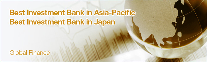 Best Investment Bank in Asia-Pacific, Best Investment Bank in Japan - Global Finance