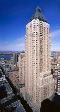 Photo: external view of America New York office