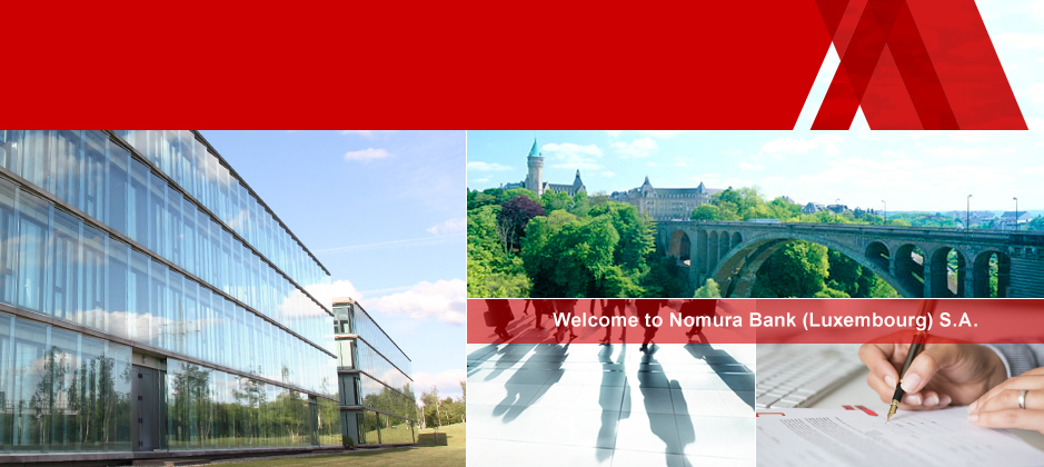 Welcome to Nomura Bank (Luxembourg) S.A.