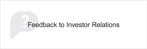 Feedback to Investor Relations