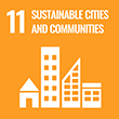 11 Sustainable cities and communities