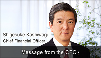 Message from the CFO