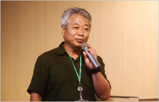 Photo: Mr. Toshiyuki Takeuchi, Director of Fukushima Office in JANIC
