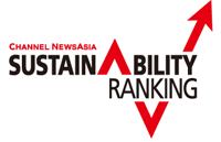 Channel NewsAsia 2015 Sustainability Ranking