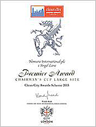 Nomura won the Chairman's Cup at Clean City Awards (U.K.)